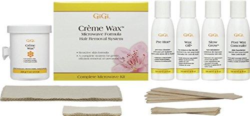 Gigi Creme Wachs Mikrowelle Kit - Gigi Creme Wax Microwave Waxing Kit -