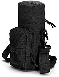 8b19271f90a4 Generic KCASA KC-BC05 Molle Water Bottle Carrier Travel Climb Outdooors Waist  Belt Tactical Kettle