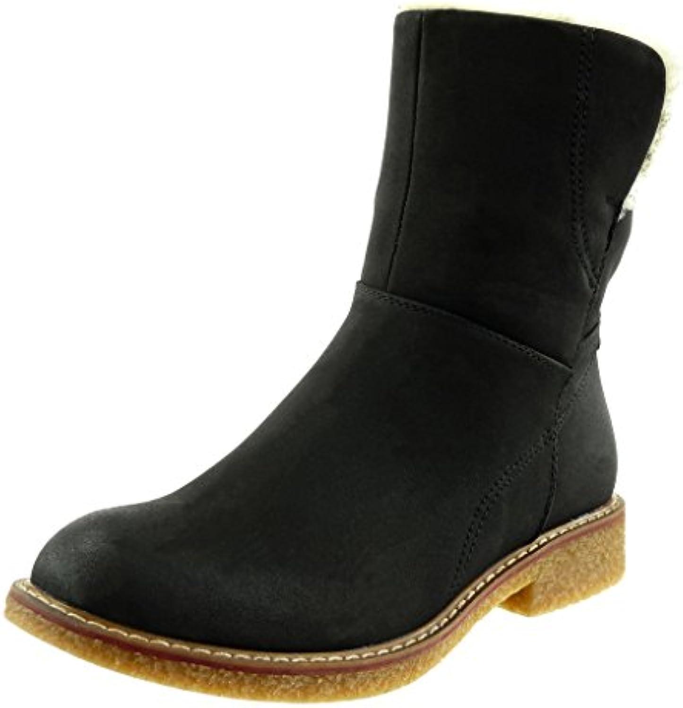 Angkorly - damen Schuhe Stiefeletten - Biker - Reitstiefel - Kavalier - Fertig Steppnähte Blockabsatz 3 CM