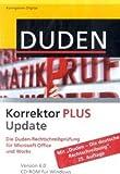 Duden Korrektor PLUS Update 6.0. Windows Vista; XP; 2000: Die Rechtschreibprüfung für Microsoft Office und Works