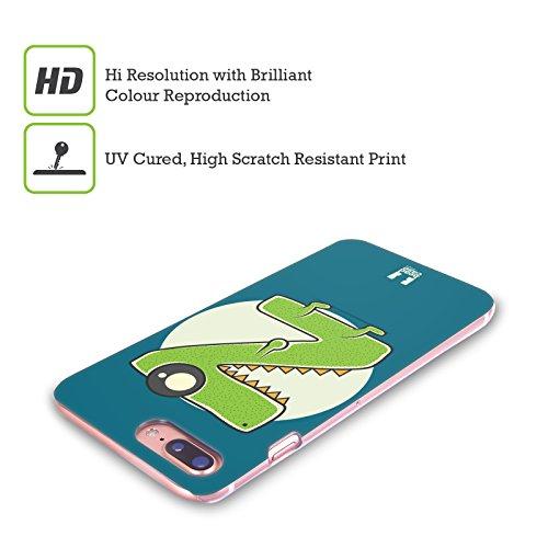 Head Case Designs Flessibile S Mostro Dellalfabeto Cover Retro Rigida per Apple iPhone X Rasoio Z