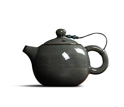 Cahookkot Teapot,Petite théière en céramique, Effort de thé théière céladon,Cooking Coffee Pots, Coffee Equipment,248ml