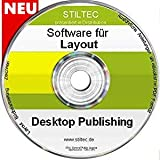 TOP Premium Layout + Bildbearbeitung +Zeichnen Software NEU ORIGINAL von STILTEC ©