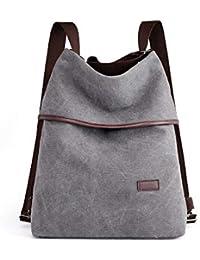 fb6c044e40e90 G-AVERIL Damen Vintage Canvas Handtasche Umhängetasche Shopper  Schultertasche Henkeltasche Hobo Tasche Beuteltasche…