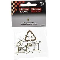Carrera GO 61510  - Trencillas doble contacto Carrera Digital 143, oro, 10 unidadades