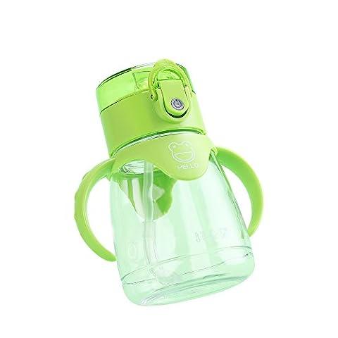 Upstyle Tritan sans BPA enfant des apprenants Tasse avec paille en silicone bébé Mini Eau Botter Learn to Drink Tasses d'Apprentissage Tasse à anses, 283,5gram (300Ml)
