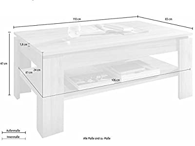 trendteam CT11245 Coffee Table