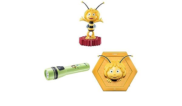 inkl. 2x Longlife Power AA Batterien, geeignet f/ür Kinderzimmer Kindergeburtstag, 5 mm LED Varta die Biene Maja Taschenlampe f/ür Kinder