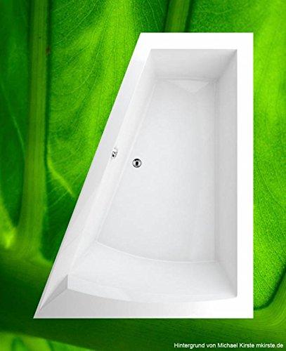 Preisvergleich Produktbild Badewanne 175x135 GALIA - Acryl ASYMETRISCH R