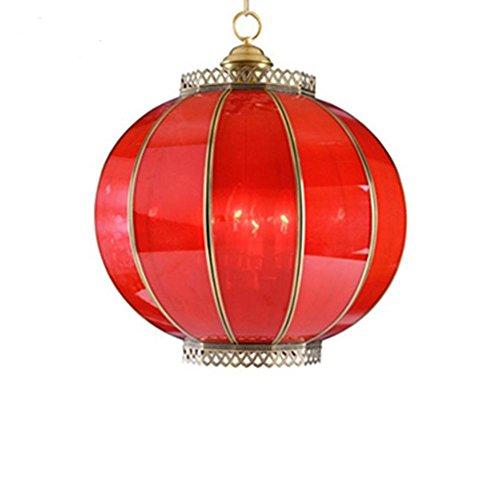 GTB Moderne chinesische rote Laternen Kronleuchter , (Kostüm Chinesische Lebensmittel)