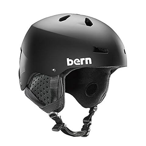 Bern Herren Macon Helm, Matte Black, S