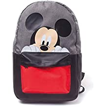 Negro Pteng Mochila de Mickey Mouse Mochilas de Mujer Bolsos Escolar Bolsa de Nylon Elegante Backpack studentesca la Escuela Media eleganti Originales Daypack