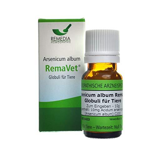 RemaVet Globuli für Tiere ACIDUM ARSENICOSUM (ARSENICUM ALBUM) C200 -