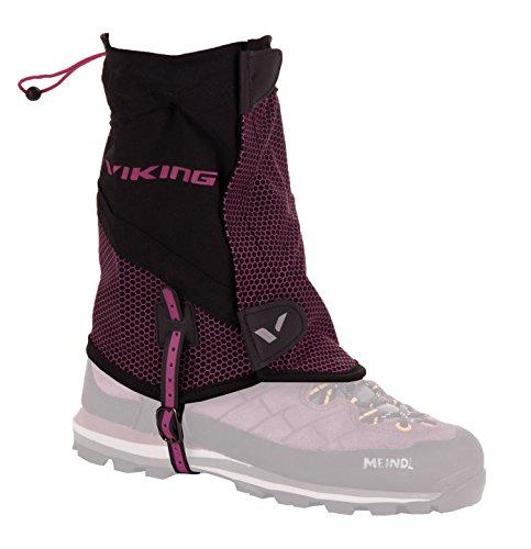 viking Gamaschen Damen und Herren kurz - wasserdicht Schneeschutz Regenschutz - ideal für Outdoor und Trekking, sehr robust - 5431, 46 Rosa, S/M