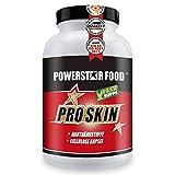 KOLLAGENAKTIVE Aminosäuren zur Bildung von Bindegewebe, normalen Funktion der Knorpel, glätten & reparieren der Haut - gegen Cellulite, Hautrisse & Faltenbildung - 180 Kapseln - VEGAN (1 Dose)