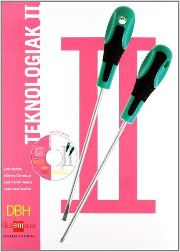 Portada del libro Teknologiak II. DBH - 9788467518276