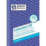 Avery Zweckform 20 x Formularbuch Lieferschein A6 VE=2x50 Blatt