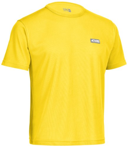 Rono Minimesh T-shirt pour femme Jaune safran (500)
