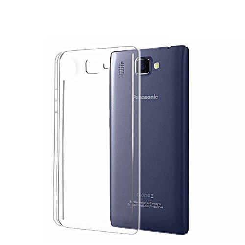 M.G.R [ Panasonic P66 Mega ] Ultra Thin 0.3mm Clear Transparent Flexible Soft TPU Slim Back Case Cover  available at amazon for Rs.99