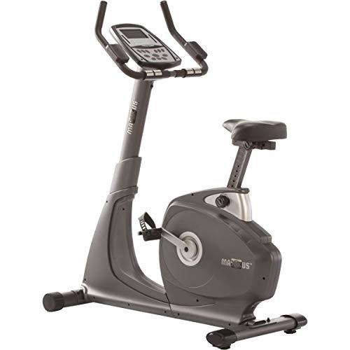 MAXXUS Fahrrad-Ergometer 7.0 mit Trainingscomputer und Pulsmesser - Heimtrainer Bike mit 12 KG Schwungmasse bis 120 kg belastbar