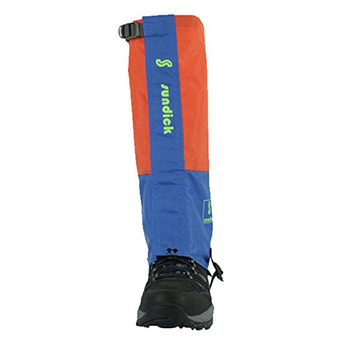 Tentock 1 Paio Impermeabile Ghette da Alpinismo Traspirante Ghette di Neve(orange)