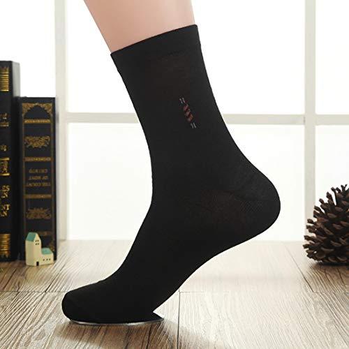 Schwere Kissen Socke (Ofliery Langlebige Herren Bambusfaser-Socken für das Laufen und Wandern (Color : Black))