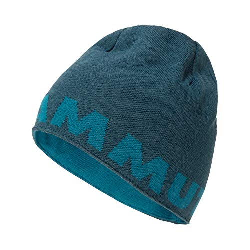 Mammut Logo Beanie, Wing Teal-Sapphire, one Size