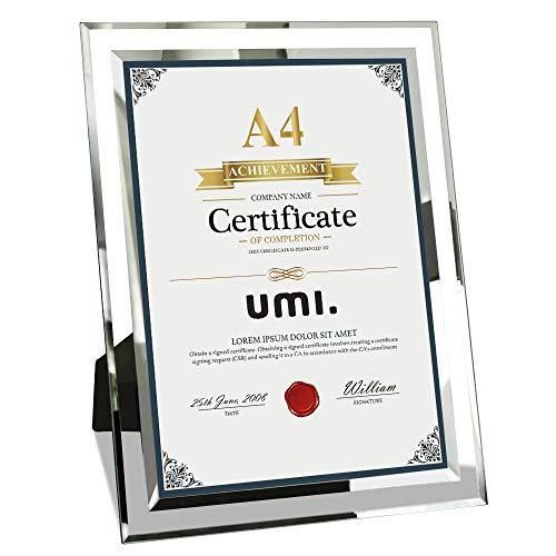 Umi. Essentials - Cadre photo en verre A4
