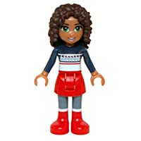 LEGO Friends Minifigure Andrea (Red Skirt, Red Boots)