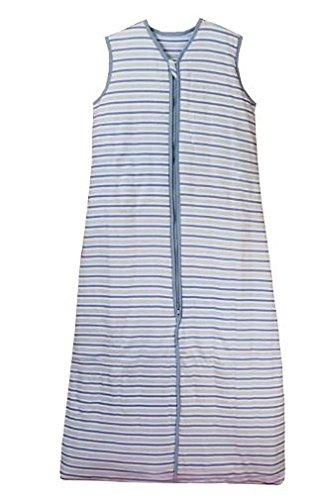 Schlummersack Baby Sommerschlafsack 0.5 Tog - Simply Blue Stripes - 12-36 Monate/110 cm