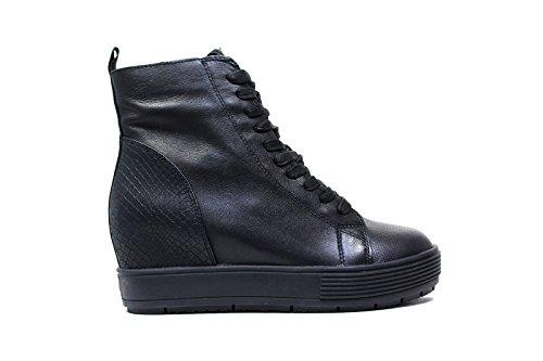 Fornarina PIFMJ9543WVA Sneakers Donna Pelle NERO NERO 38