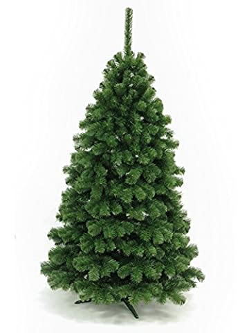 Premium Silbere buschige Kiefer - Hohe Qualität künstlicher Weihnachtsbaum 120-320 cm einschließlich eines Ständers