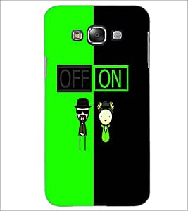 PrintDhaba Funny Image D-4017 Back Case Cover for SAMSUNG GALAXY E7 (Multi-Coloured)