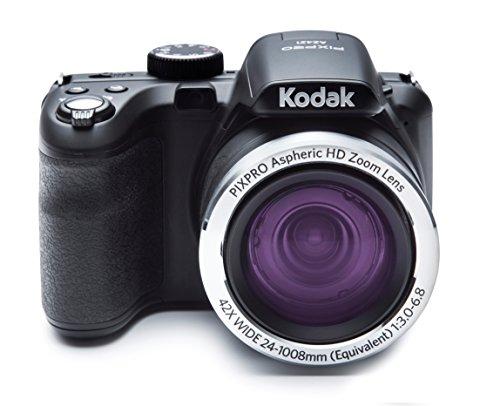 Kodak PIXPRO AZ421 - Cámara Digital (16.15 MP, Cámara Puente, 25.4/58.4 mm (1/2.3'), 42x, 4X,...