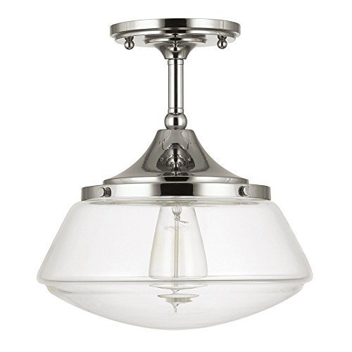 capital-lighting-3533pn-134-one-light-semi-flush-mount-polished-nickel-finish-with-clear-glass-by-ca