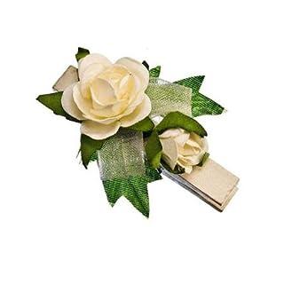 Sehlbach Rose Klammer - Weiß