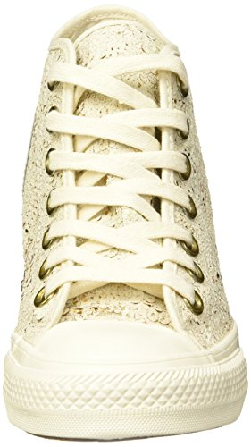 CONVERSE ALL STAR MID LUX PARCHMENT Beige