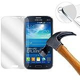 Lusee 2 x Pack Protezione Schermo Vetro Temperato per Samsung Galaxy Grand Neo Plus I9060I I9060 / Galaxy Grand I9080 I9082 9H Pellicola Vetro Protettivo Salvaschermo (Coprire Solo la Parte Piatta)