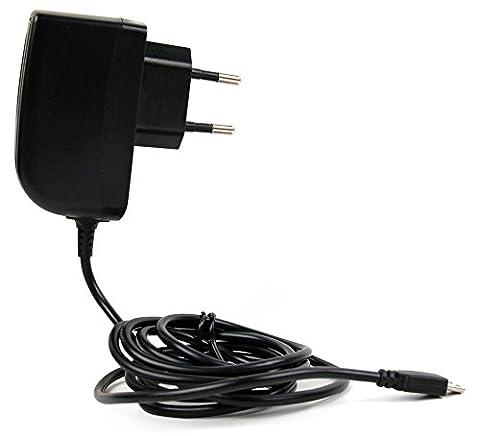 1 AMP EUROPA NETZSTECKER MIKRO USB für B&O Bang & Olufsen (H7, H9) | Beoplay E8 Kopfhörer