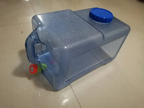 Benbroo Wasserkanister, 5 l/7,5 l/12 l/18 l/22 l, für den Außenbereich, für das Fahrzeug, Camping, Catering, in Lebensmittelqualität, 22L