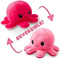 Quick easy Toy Cute Octopus Baby Toys Double-Sided Flip Soft Reversible Octopus Plus Stuffed Animals Doll, Creative Toys…
