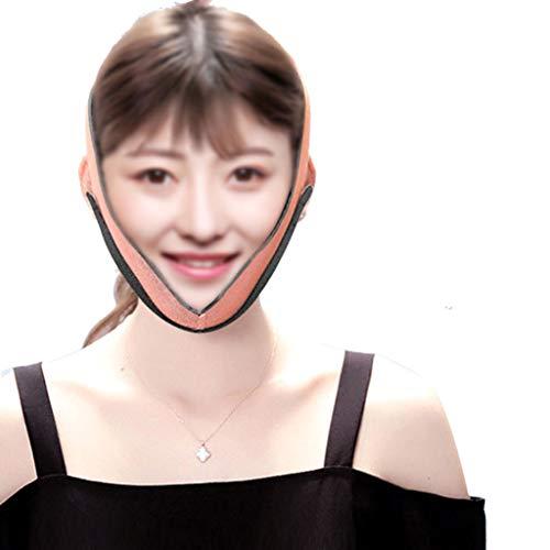 FDHLTR Dünne Gesichtsmaske Schlaf Gesichts kleine V Gesicht Verbandforming Maske dünnes Gesicht straffende Artefakt reduzieren Doppelkinn Gesichtsformungsmaske