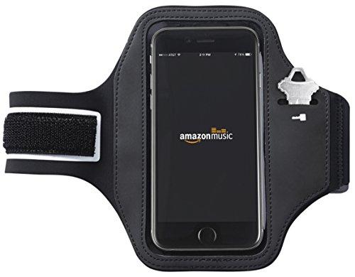 AmazonBasics Sportarmband für iPhone 6 und Samsung Galaxy S6 (Iphone6 Fitness-armband)
