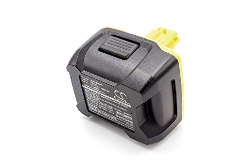 vhbw Li-Ion batteria 5000mAh (14.4V) per strumenti attrezzi utensili da lavoro Würth BS 14-A Combi, BS 14-A Power