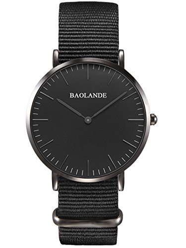 alienwork-classic-stmawes-montre-quartz-elegant-quartz-mode-design-intemporel-classique-nylon-noir-n