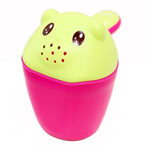 Shampoo Baby Shampoo Gourde cucchiaio di plastica bambini orso tazza