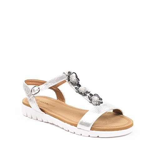 Ideal Shoes ,  Sandali donna Argento