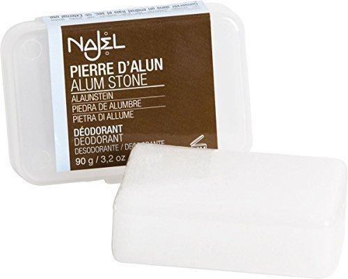 Najel Alum Stone Deodorant in Block 90g by Najel