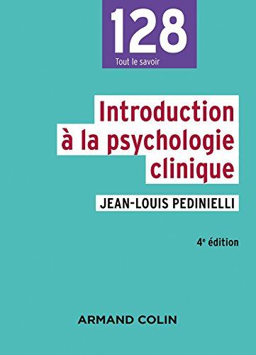 Introduction à la psychologie clinique - 4e éd. (128)