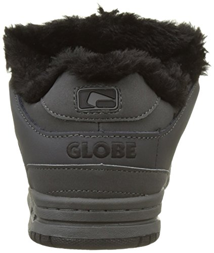 Globe Scribe, Scarpe da Skateboard Uomo Multicolore (Charcoal/winter/fur)